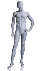 Photo: Abstract Mannequin | Parson Abstract Mannequin in Slate Gray from www.zingdisplay.com
