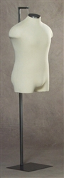 Photo: Male Coat Mannequin Form | Classix Display Form