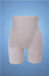Heavy Duty Unbreakable Female Butt Form - White
