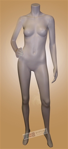 Unbreakable Headless Female Mannequin with base