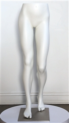 High End Running Female Leg Form Mannequin - Sprint Pose - 6 Colors