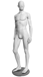 High End Contemporary Abstract Male Mannequin Sideways Pose - 6 Colors