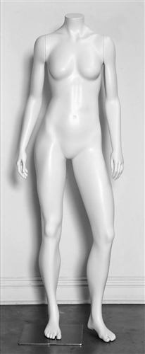 High End Toned Headless Female Mannequin - 6 Colors
