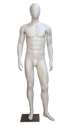 High End Toned Headless Male Mannequin - 6 Colors