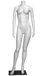 High End Junior Teenage Headless Female Mannequin - 6 Colors