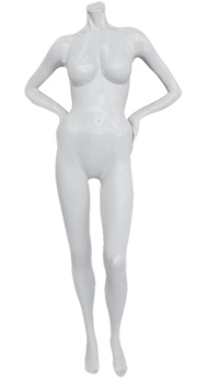 Teesha Headless Female Mannequin