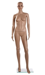Female Caucasian Plastic Upright Mannequin