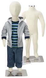 Photo: Adjustable Child Mannequin |1-Year Old Unisex Poseable Child Mannequin