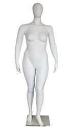 Photo: Martha - Female Plus Sized Egghead Mannequin - Plus Size Collection