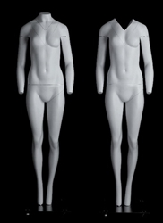 "5'5"" Female Ghost Invisible Photography Mannequin"