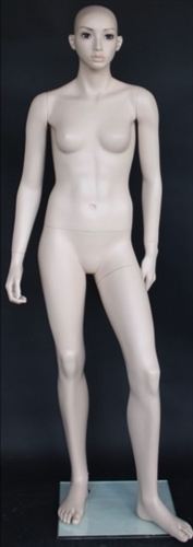 Teenage / Petite Realistic Light Fleshtone Female Mannequin