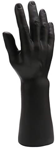 Male Display Hand  - Matte Black