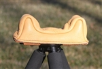 Huskemaw Leather Head Shooting Rest-For Prone, Compact, and Standard Sticks