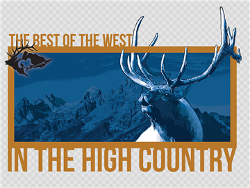 Best of the West In the High Country Window Decal Sticker