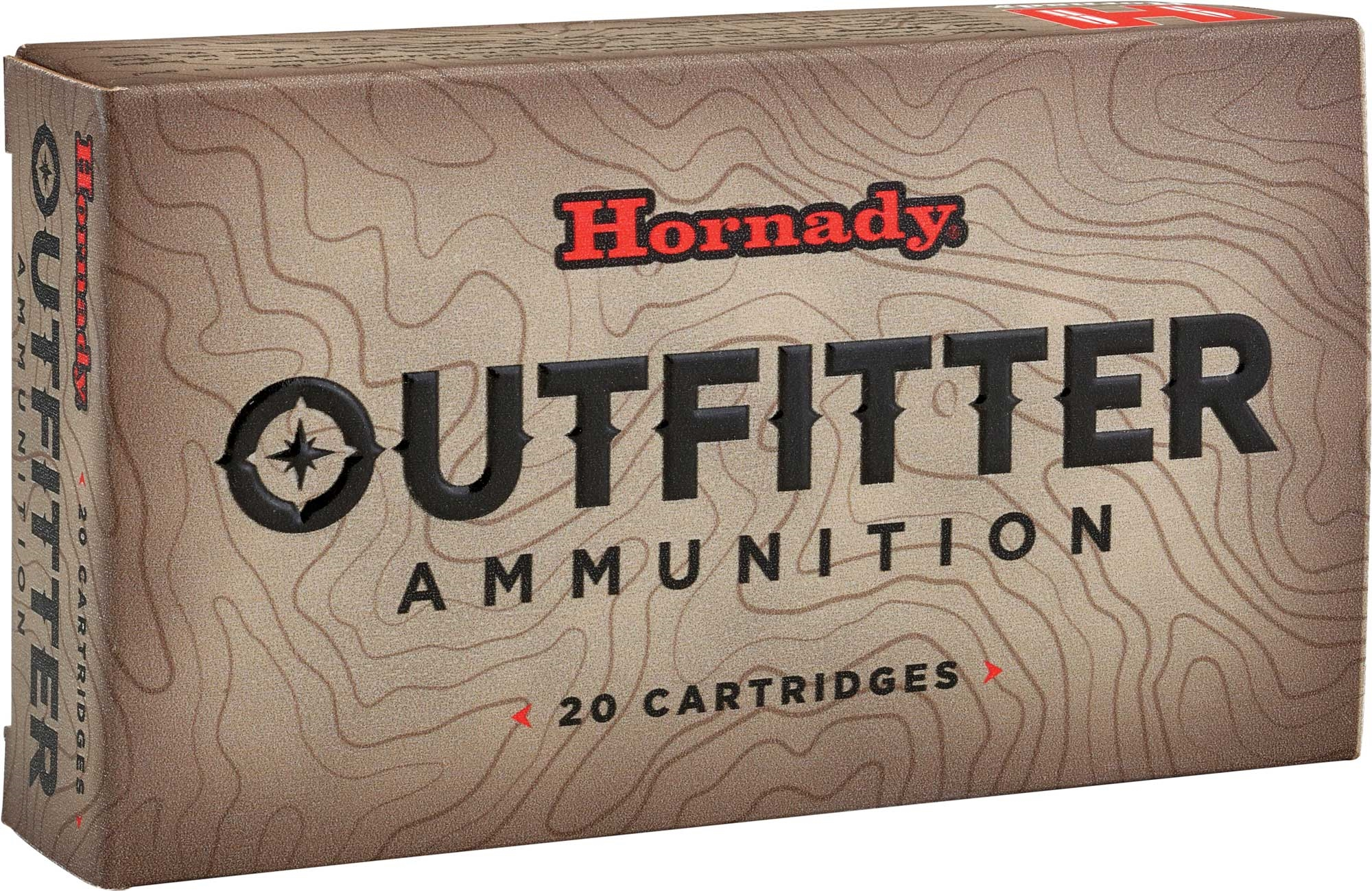 Hornady Outfitter Ammunition 7mm Remington Magnum 150 Grain GMX Lead-Free