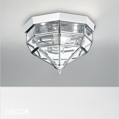 NORMA CEILING LIGHT, CHROME