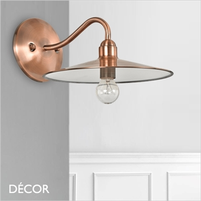 CANTINA WALL LIGHT, COPPER