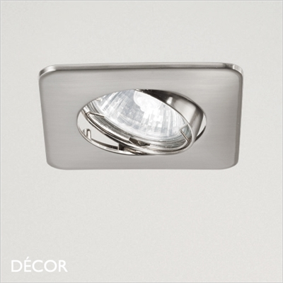 LOUNGE DIRECTIONAL RECESSED DOWNLIGHT, NICKEL