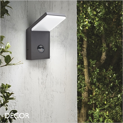 STYLE WITH SENSOR OUTDOOR WALL LIGHT, LED, ANTHRACITE