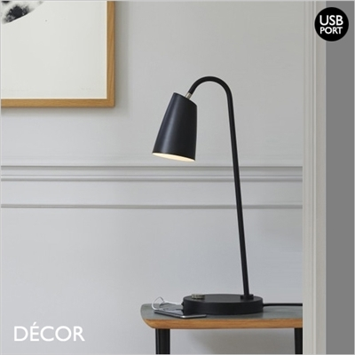 SWAY DESK LIGHT, BLACK