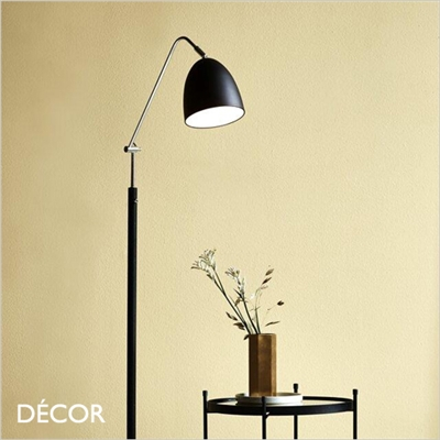 ALEXANDER FLOOR LAMP, BLACK