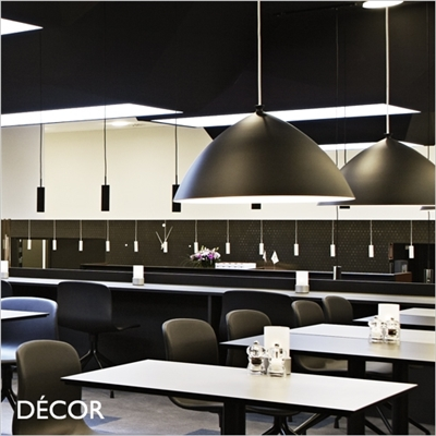 SLOPE 50 PENDANT LIGHT, BLACK