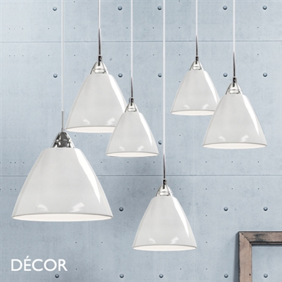 READ 20 PENDANT LIGHT, WHITE