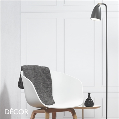 NEXUS 10 FLOOR LAMP, DARK GREY
