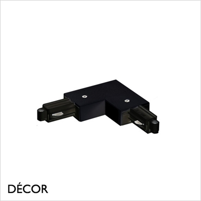 LINK SYSTEM LEFT-ANGLE CONNECTOR, BLACK