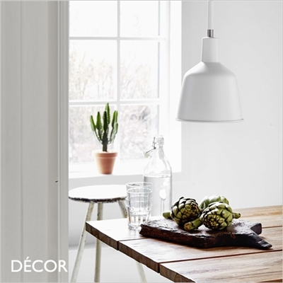 PATTON PENDANT LIGHT, WHITE