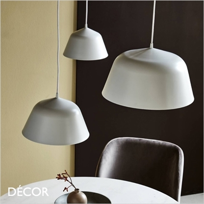 ELLA PENDANT LIGHT, 24, 30 & 40, WHITE