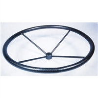 "Captains Wheel Floor Model <b>36""</b>"