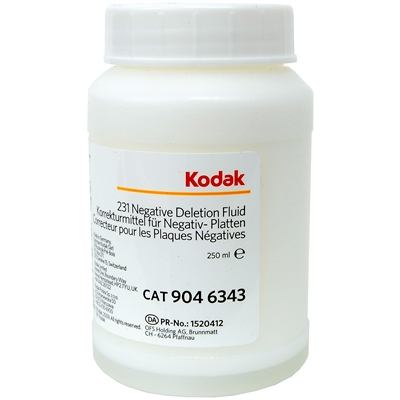 Kodak 231 Deletion Fluid