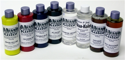 Akua Kolor Primary Color Set (Kit #1)