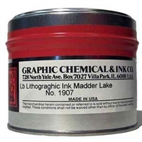 Madder Lake Lithographic Ink 1907C