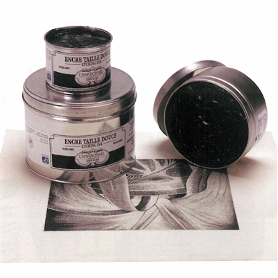 200 ml can PBk9-PBk7-PB27 Black Luxe C - Charbonnel Traditional Intaglio Etching Ink