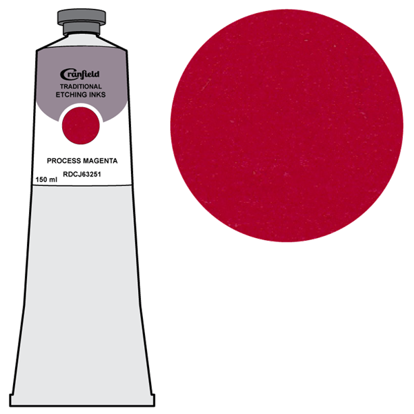Cranfield Traditional Etching Ink Process Magenta RDC 63251