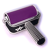 Brayer Pin - Purple (PMS 513 C)