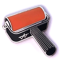Brayer Pin - Orange (PMS ORANGE 021 C)