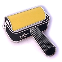 Brayer Pin - Yellow Ocher (PMS 7406 C)