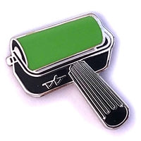 Brayer Pin - Green Bright (PMS 368 C)