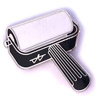 Brayer Pin - White