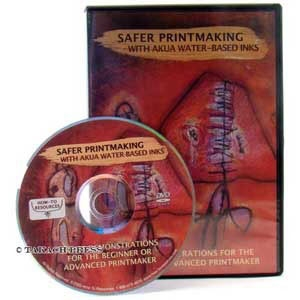 Safer Printmaking With Akua Water Based Inks DVD