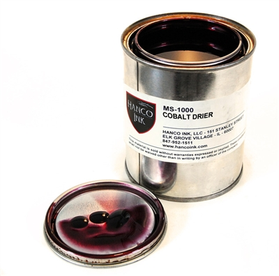 Cobalt Drier MS-1000 Hanco Litho inks