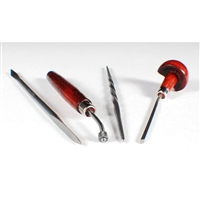 Intaglio Set A Roulette (4pc) L334-1