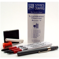 Lithographic Crayons Combination Packs - Stones