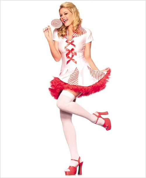 Adult candy corn cutie women costume