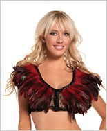 Red Feather Top
