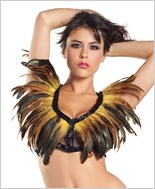 Yellow Feather Top