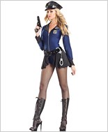 Flip The Badge Sexy Adult Costume